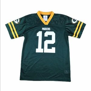 AARON RODGERS GREEN BAY PACKERS JERSEY YOUTH XL